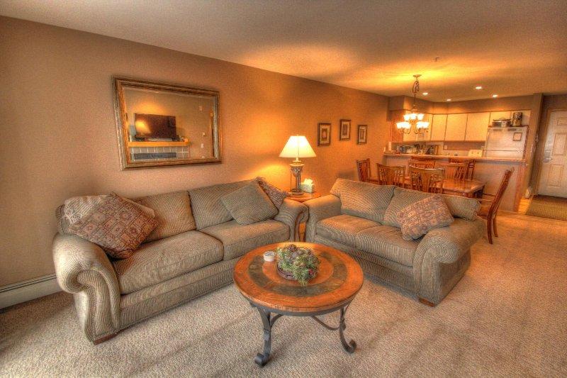 SkyRun Property - 'C212 Cinnamon Ridge' - Living room