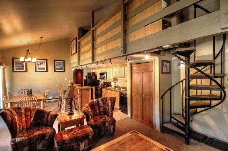 SkyRun Property - '1026 Wild Irishman' - Living Area