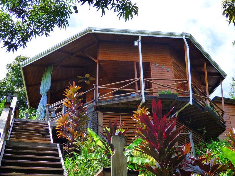 Aloe Vera Eco-House, Kayak & Snorkelling – semesterbostad i Isla Bastimentos