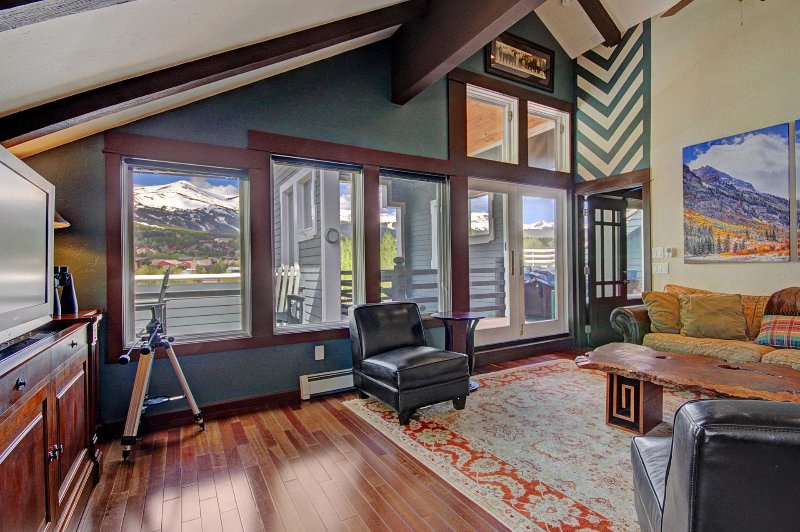 SkyRun Property - 'Porcupine Peak' - Enjoy the Expansive Ski Area Views