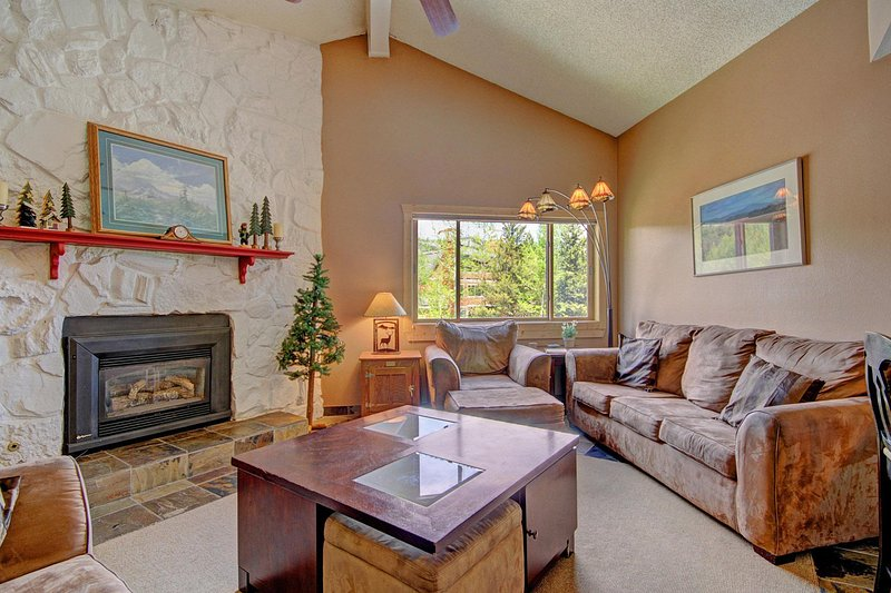SkyRun Property - 'Sawmill 316' - Enjoy this convenient gas fireplace