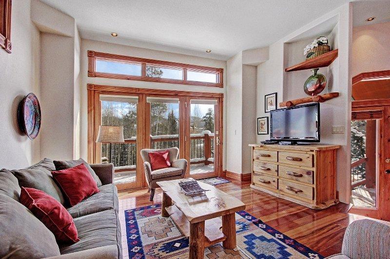 SkyRun Property - 'Dogwood Lodge' - Beautiful views from the living room