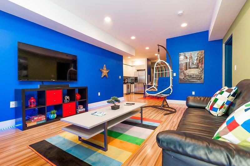 Ouvert appartement de luxe moderne espacé