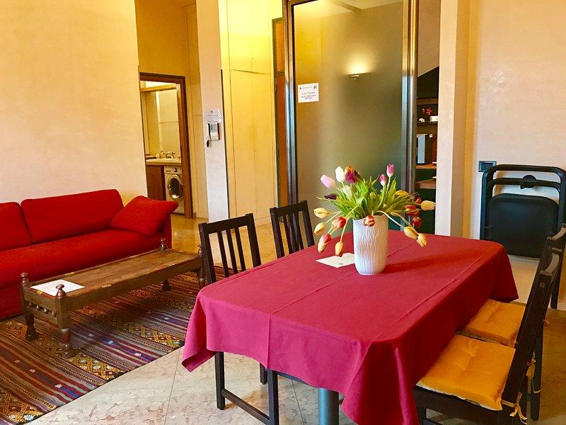 Apartment with city view, location de vacances à Cerese di Virgilio