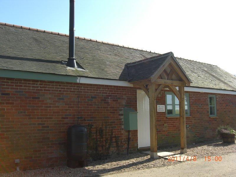 The Old Cricket Pavilion. Bodiam, vacation rental in Burwash