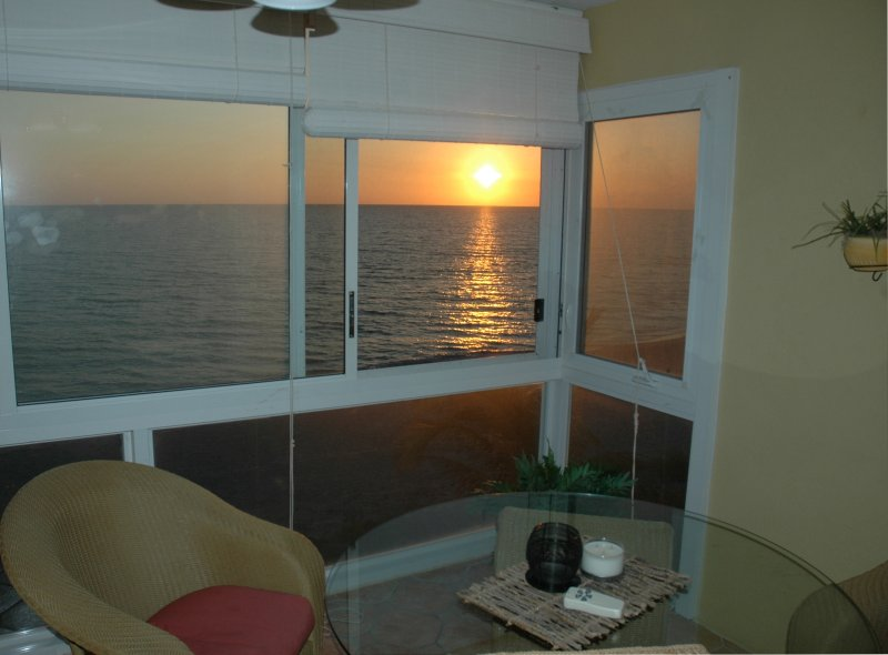 A Spectacular Sunset from our Lanai every Night on the Gulf of Mexico!