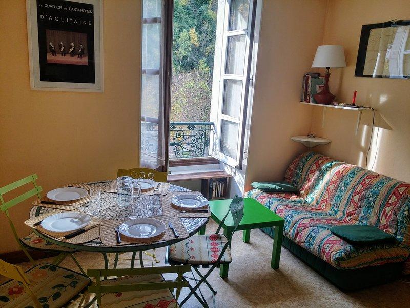 Appartement 6 couchages Gourette Eaux Bonnes, aluguéis de temporada em Beost