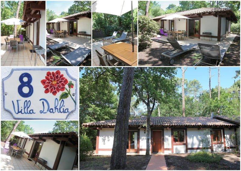 Villa de charme sous les pins proche des plages et commerces., vacation rental in Pyla-sur-Mer