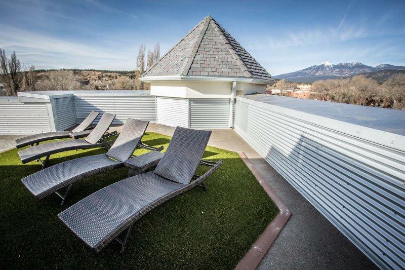 3500 sq. Ft TOIT deck! Vue à 360 degrés de Flagstaff!