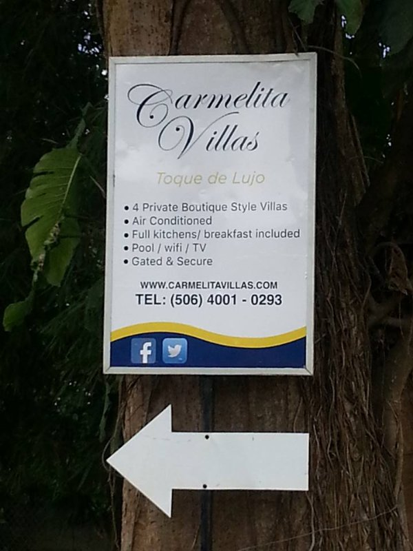 You can find us here; the white arrow leads you to our gated and secure parking lot