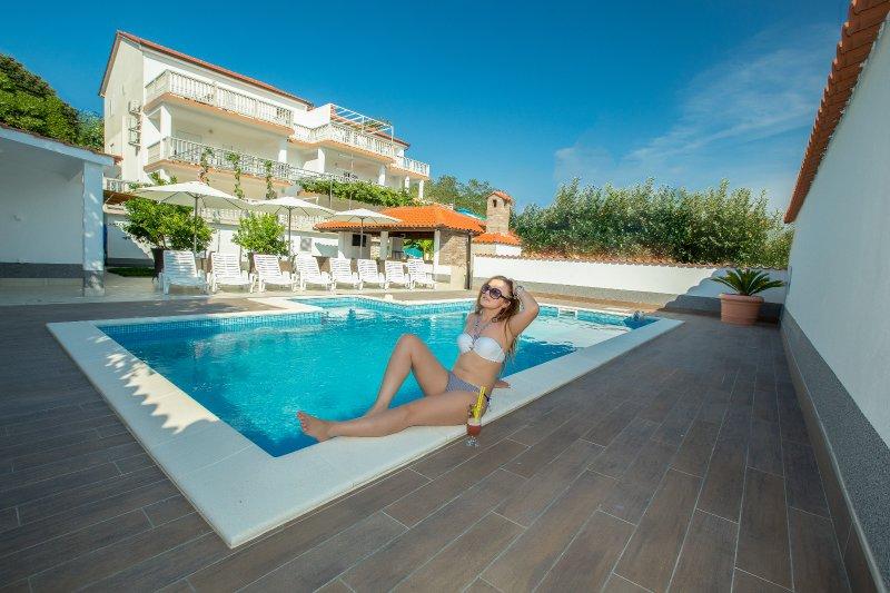 Apartments Dania with pool, in Lopar (island of Rab) - Croatia. Near the famous Paradisebeach.