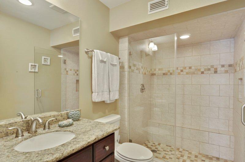 Bagno padronale cabina doccia