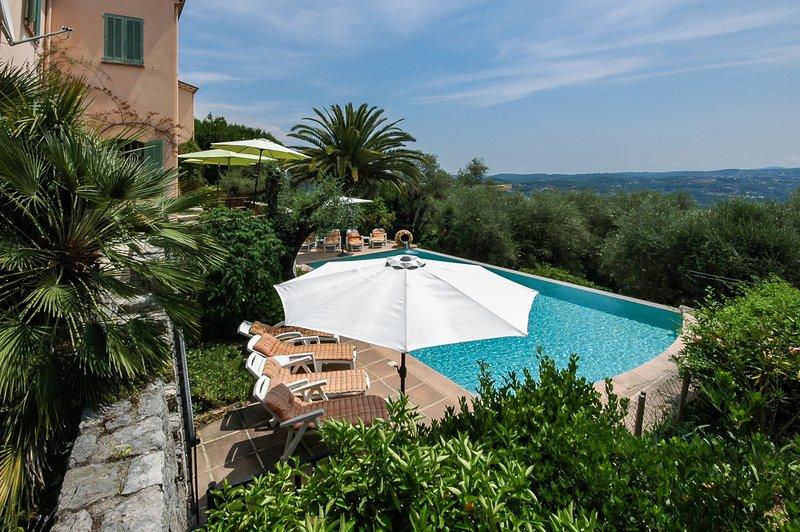 Pool and Panoramic views .