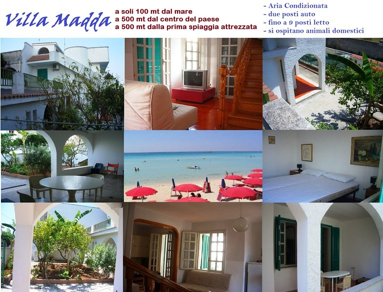 Madda Villa Porto Cesareo 100 meters from the sea
