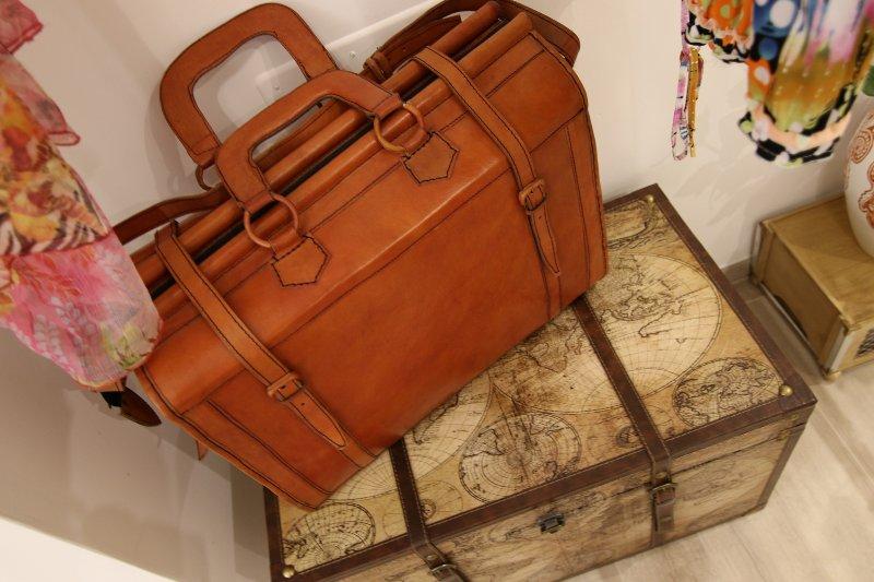 Baule poggia valigia