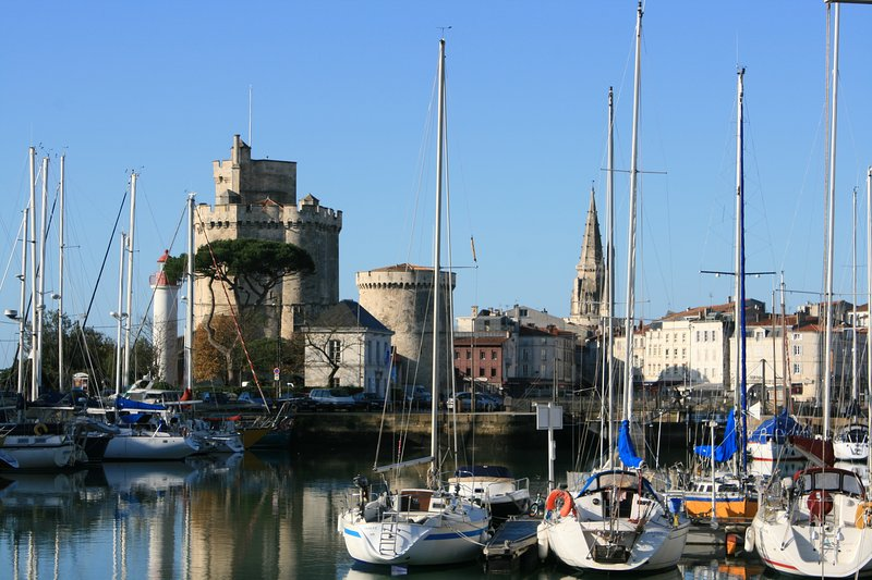 Beautiful La Rochelle harbour