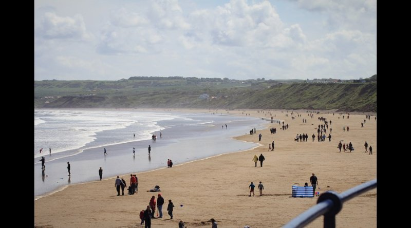 Filey Beach.