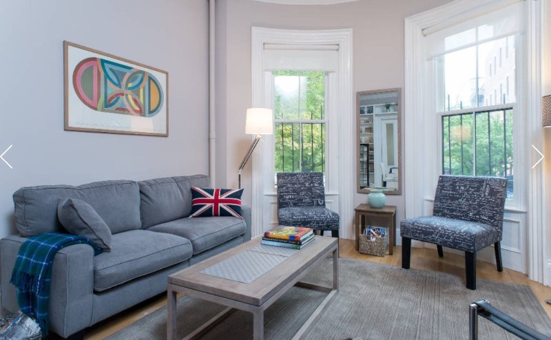 Elegant new renovation of a historic brownstone on a prime South End  street, vacation rental in Boston