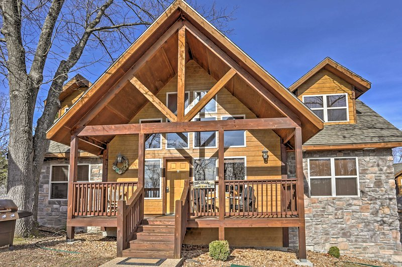 Your getaway awaits at 'Frog's Hollow,' a vacation rental house in Branson!