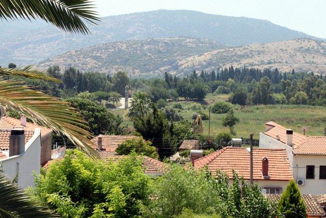 Vista del templo de Artemisa de St Johns House