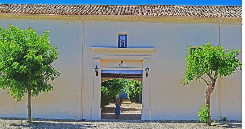 Entrance to the Saint Ferreol Estate