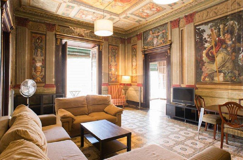 Cal Tineta. Historical appartment, Costa Daurada, holiday rental in Vilanova i la Geltru