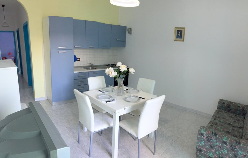 Living-dining room / kitchen