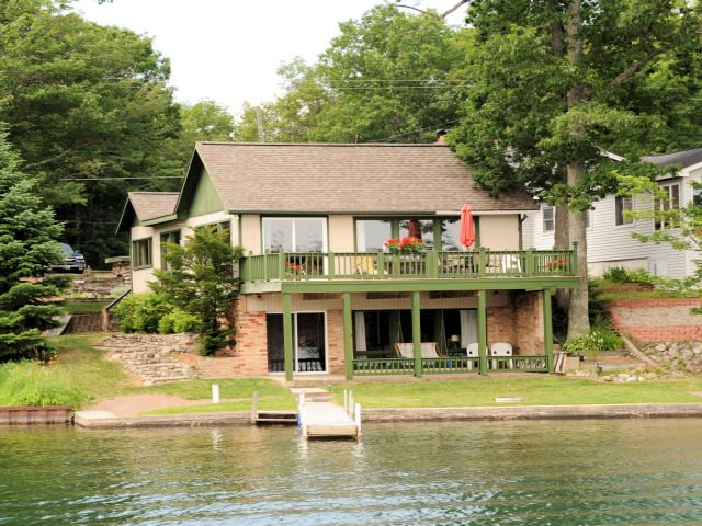 Lake View of Cabin 10