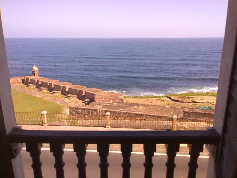 Très belle vue unique sur l'océan de notre troisième étage salon
