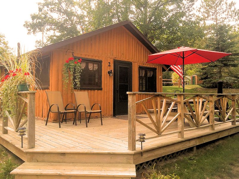 Clear Lake Resort Cabin 2, holiday rental in Mio