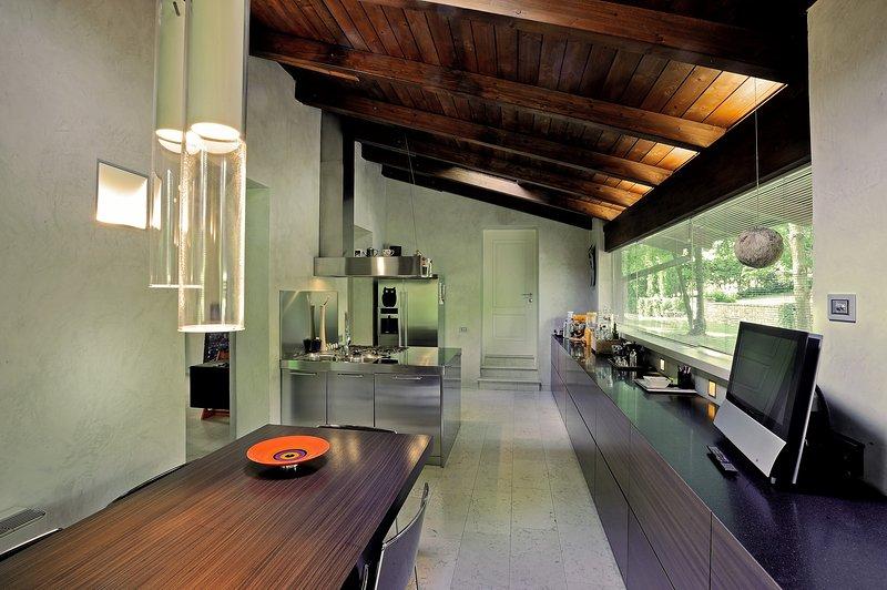 Cozinha e jantar ala norte