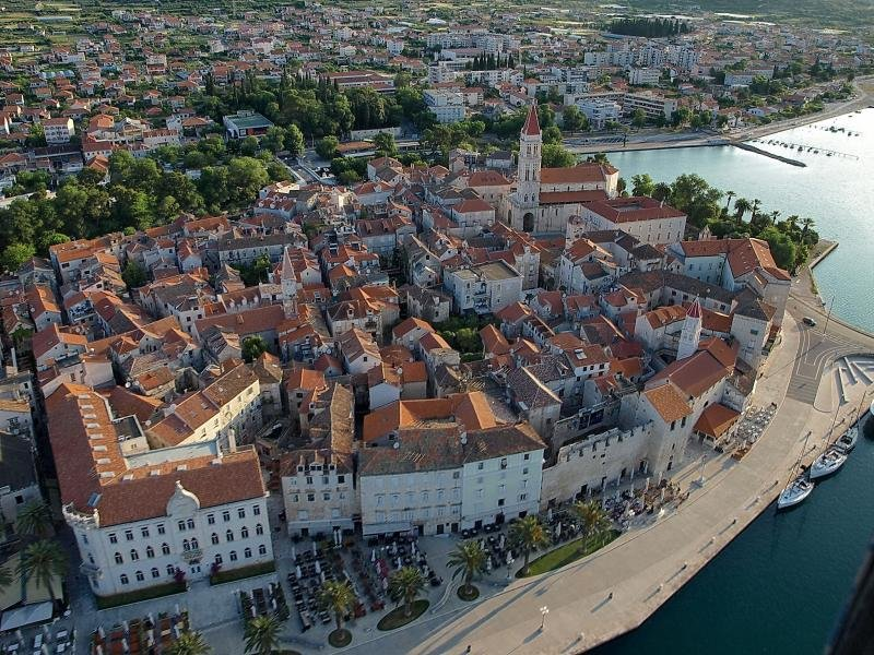 Trogir do ar!