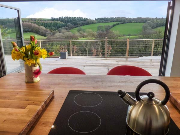 RAMSTORLAND WOODLAND VIEW barn conversion, open plan, WiFi, scenic views, vakantiewoning in Bampton