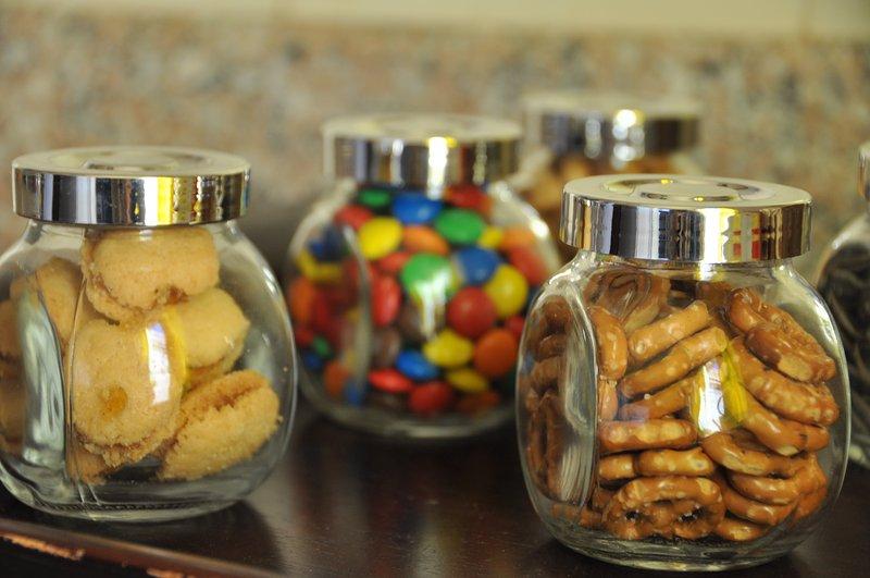 La meticulosa atención a los detalles - hasta los aperitivos de bienvenida!
