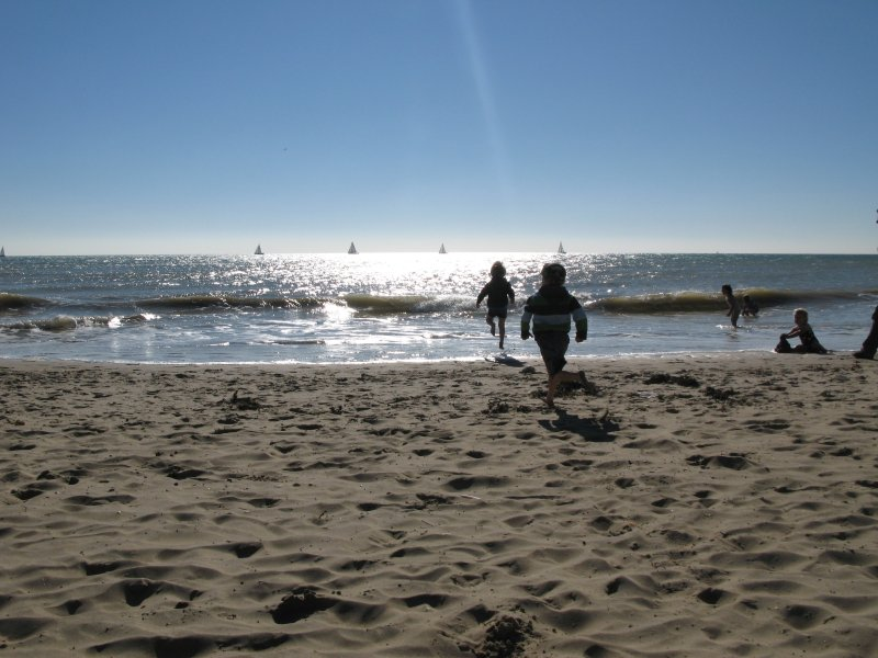 Camber's fabulous 2-mile stretch of sandy beach is perfect for families...