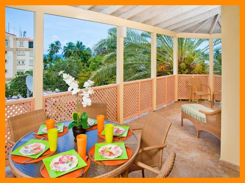 Terraces 402 -  Steps from beach - Private balcony, alquiler de vacaciones en Dover