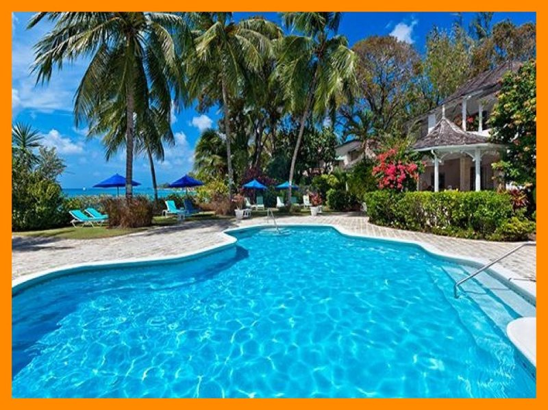 Emerald Beach 1 - 5* villa - direct beach access, holiday rental in Gibbes