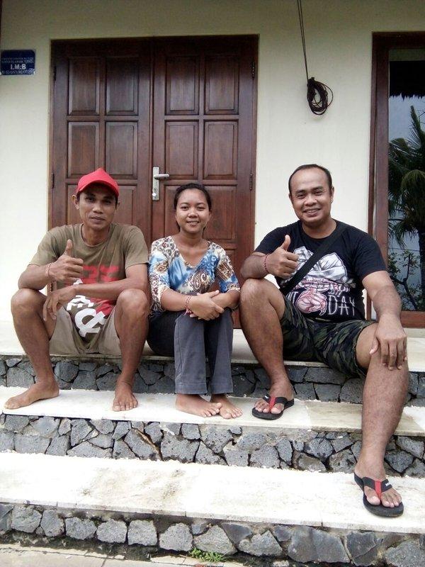 Rencontrez l'équipe de Villa Nusa Indah! Ils feront de leur mieux pour rendre un séjour mémorable!
