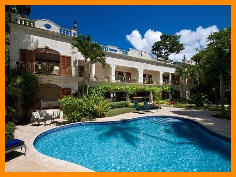 Moon Reach - 5* beachfront villa - private pool, holiday rental in Gibbes