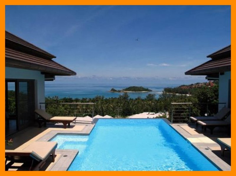 5083 - Walk to sandy beach with casual bars and restaurants, holiday rental in Choeng Mon
