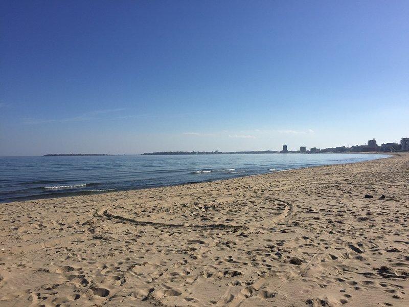 Sunny Beach towards Nessebar