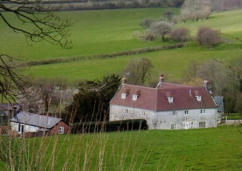 Cools farmhouse has stood here for nearly 400 years. Once it was thatched but now has a new roof.