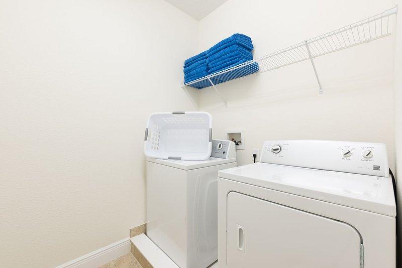 Et une salle de lavage aussi! Au cas où!!!