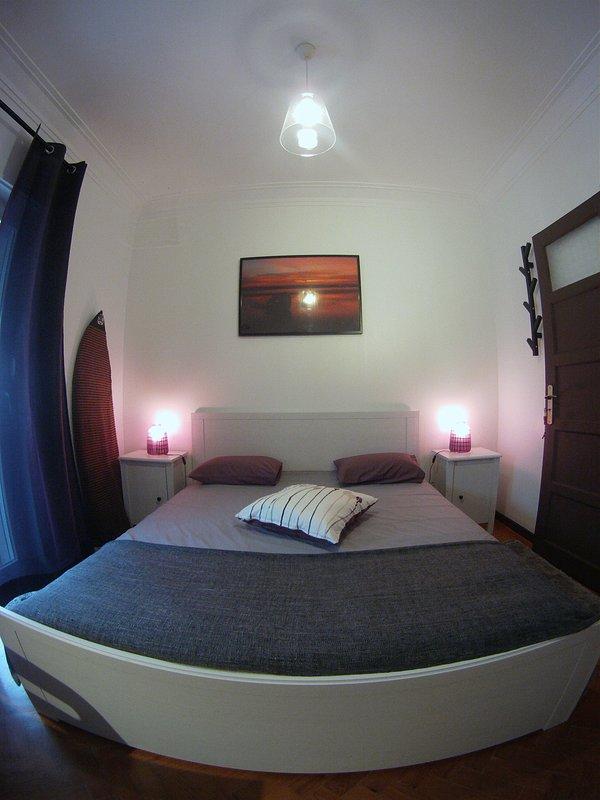Zen rum med balkong