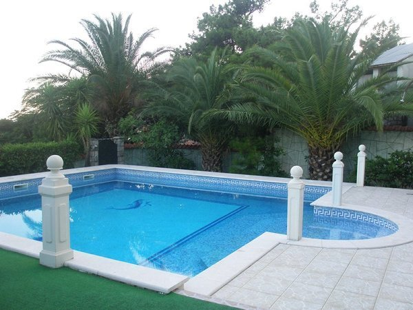 Deluxe villa with pool and sea view in Petrovac, vacation rental in Petrovac