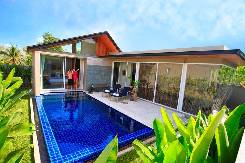 Villa Sunpao Resort and SPA 2 Bedrooms Pool Villa, holiday rental in Thep Krasattri