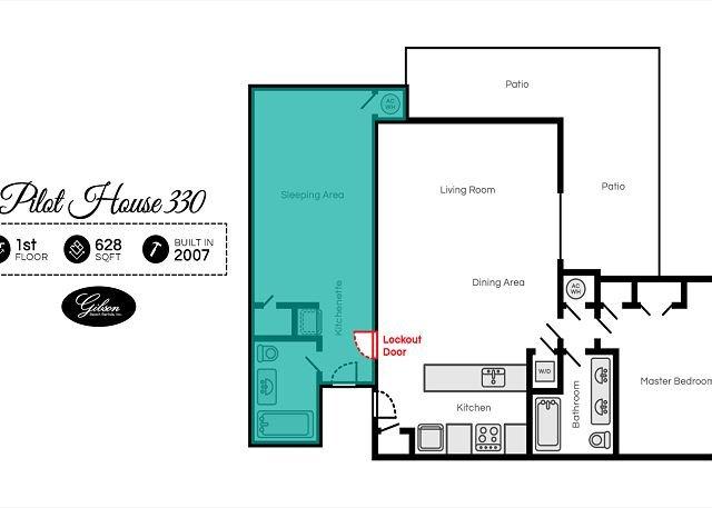 Pilot House 330 Floor Plan