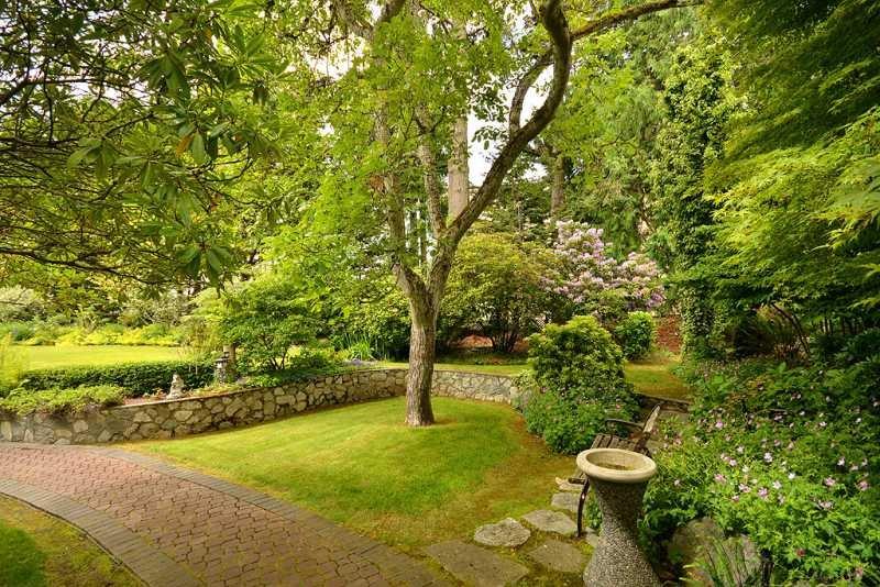 Miraloma gardens and path
