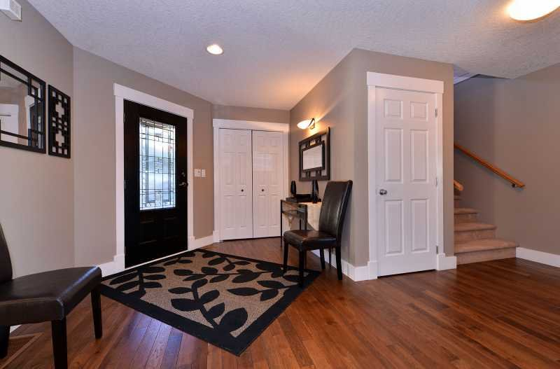 The large entry foyer.