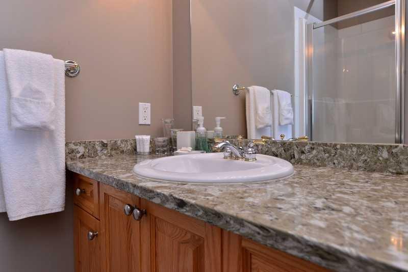 This four piece bathroom